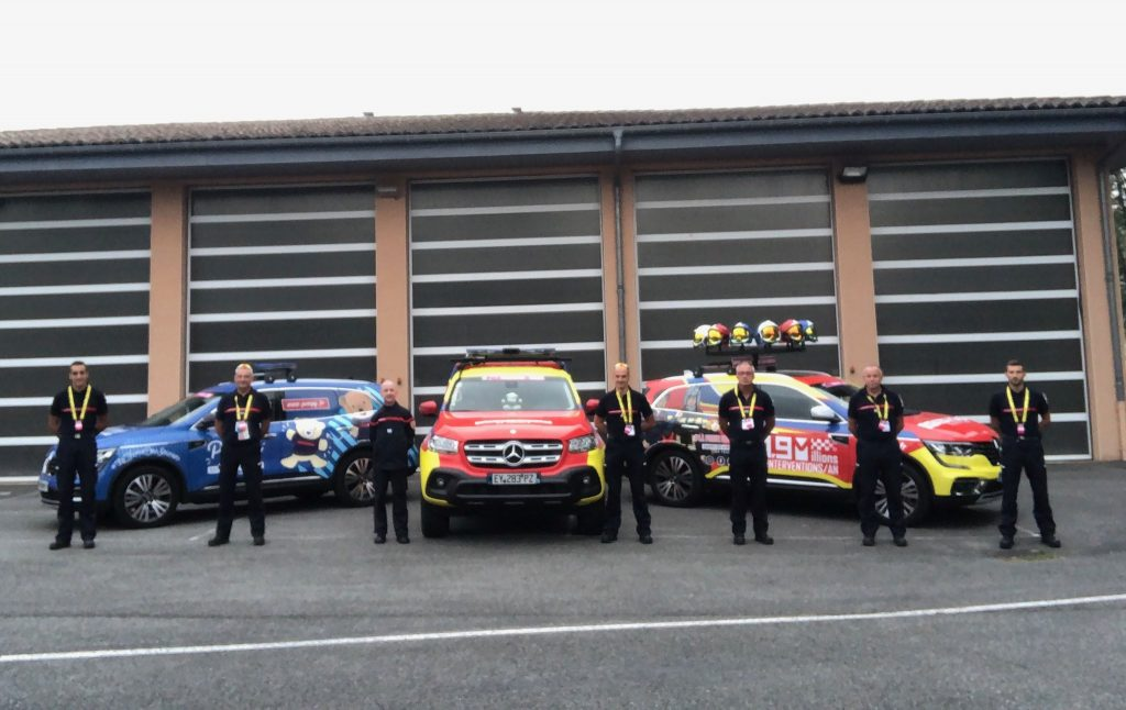 La caravane du Tour de France 2020 « Sapeurs-Pompiers de France »